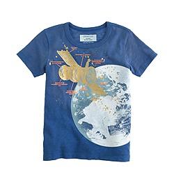 Boys' glow-in-the-dark satellite T-shirt