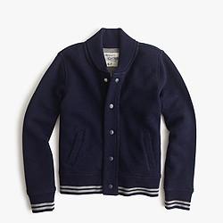 Boys' cotton bomber jacket