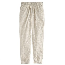 Collection seaside pant in sequin