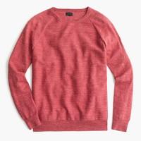 Slim rugged cotton sweater