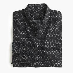 Slim Secret Wash shirt in star print