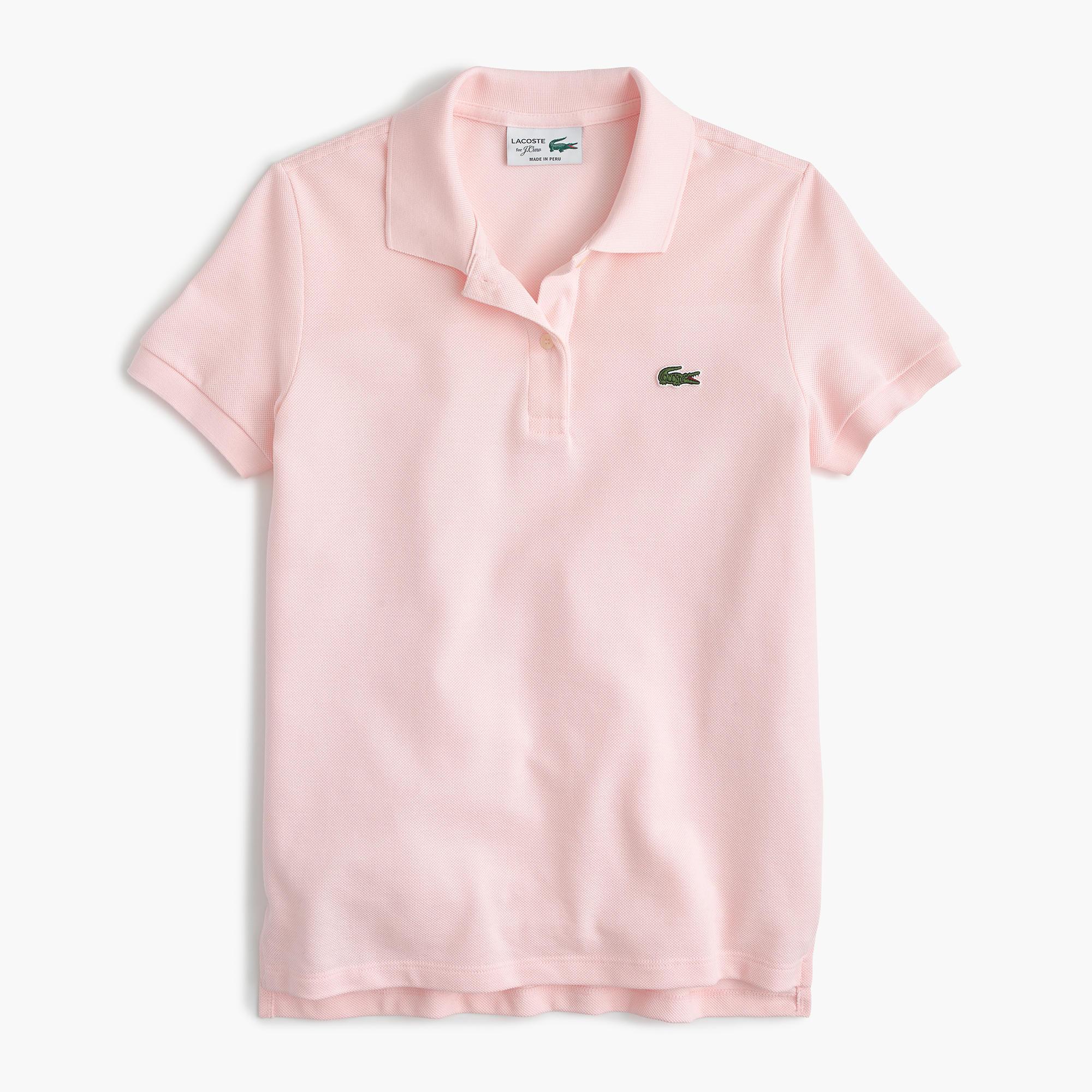 Lacoste For J Crew Polo Shirt Women 39 S Polo Shirts J Crew