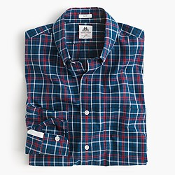 Slim Thomas Mason® for J.Crew washed shirt in cambridge blue plaid