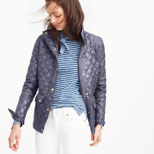 Shiny downtown field puffer jacket