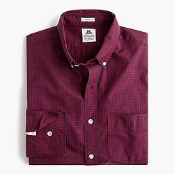 Slim Thomas Mason® for J.Crew shirt in danbury red gingham
