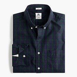 Thomas Mason® for J.Crew shirt in forest check