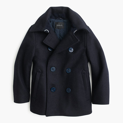 Boys' wool peacoat with Thinsulate®