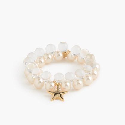 Girls' gumball bracelet with fruit