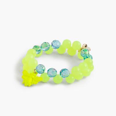 Girls' gumball charm bracelet