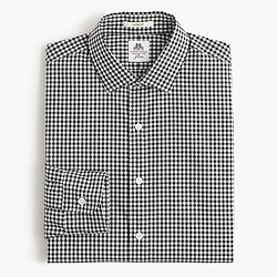 Thomas Mason® for J.Crew Ludlow shirt in black gingham