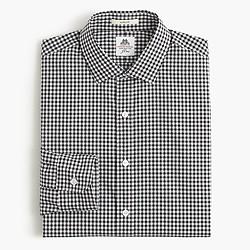 Thomas Mason® for J.Crew Ludlow shirt in black gingham