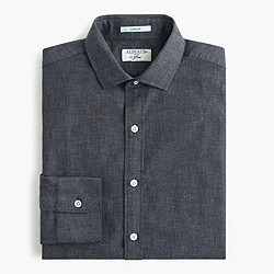 Albiate 1830 for J.Crew Ludlow shirt in deep atlantic chambray