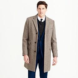 Ludlow topcoat in herringbone English wool with Thinsulate®