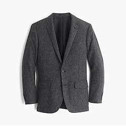 Ludlow blazer in herringbone English tweed