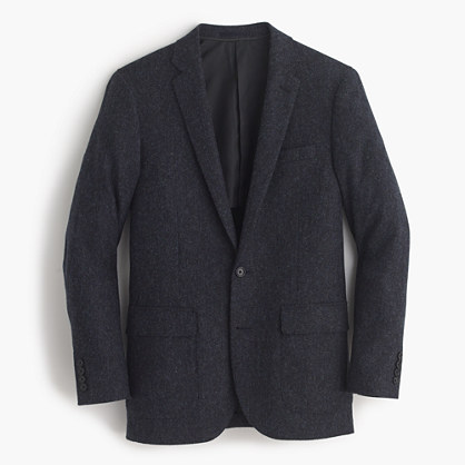 Ludlow blazer in herringbone English tweed