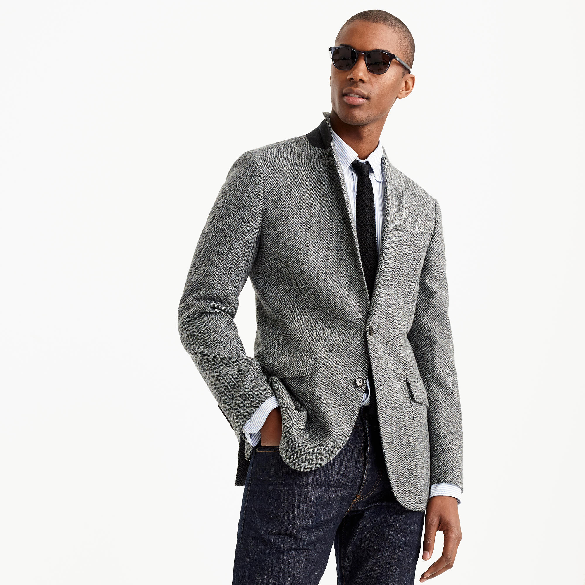 Grey Tweed Sport Coat
