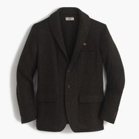 Wallace & Barnes shawl-collar blazer in English wool