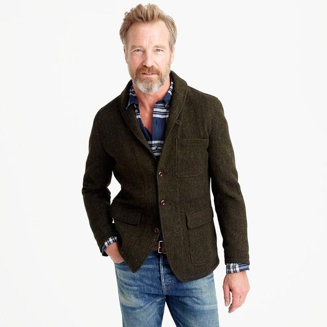 Wallace & Barnes shawl-collar blazer in English wool