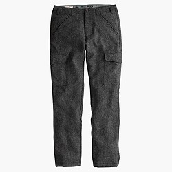 Wallace & Barnes Donegal wool cargo pant