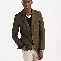 Ludlow blazer in Italian garment-dyed cotton
