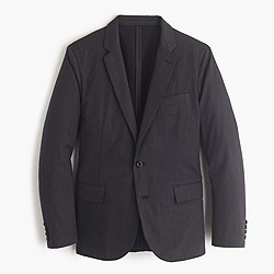 Ludlow blazer in washed cross-printed cotton