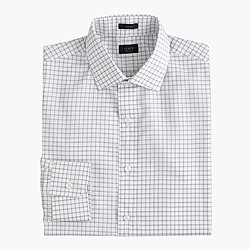 Crosby shirt in rustic blue check