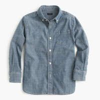Kids' chambray shirt