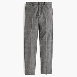 Ludlow suit pant in American glen plaid wool