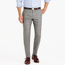 Ludlow suit pant in American glen plaid wool