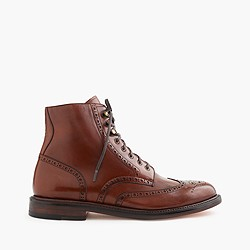 Ludlow wing tip boots