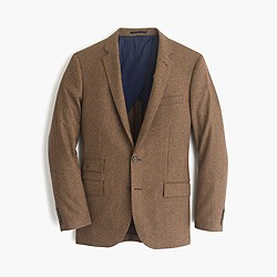 Ludlow suit jacket in Italian houndstooth wool