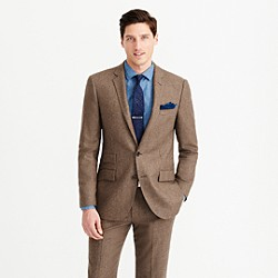 Ludlow suit jacket in Italian houndstooth wool