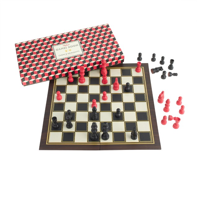 Ridley's® chess and checkers set