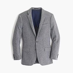 Ludlow suit jacket in English mini-herringbone wool