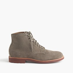 Kenton suede plain-toe boots