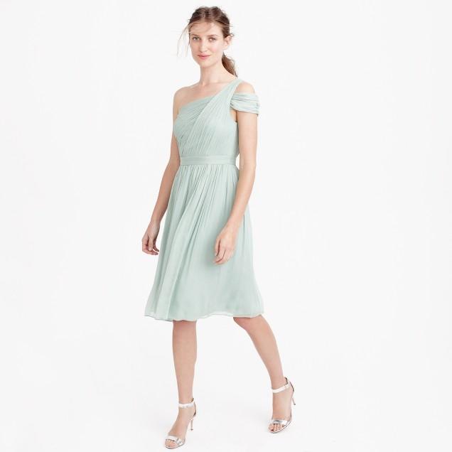 Cara dress in silk chiffon
