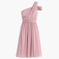 Cara dress in silk chiffon