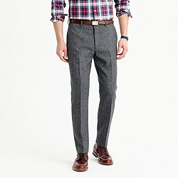 Crosby suit pant in English Donegal wool