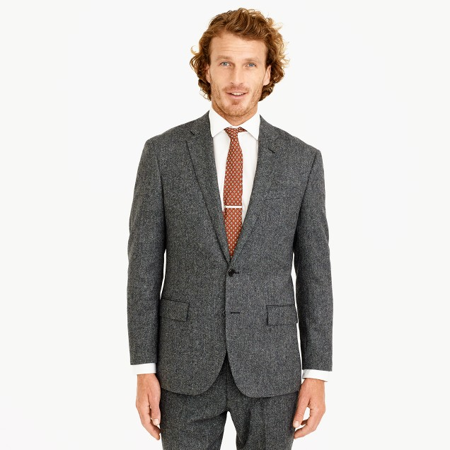Crosby suit jacket in English Donegal wool