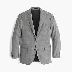 Crosby suit jacket in American glen plaid wool