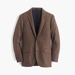 Ludlow blazer in windowpane Italian wool