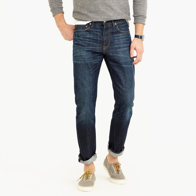 1040 athletic jean in Cheshire wash