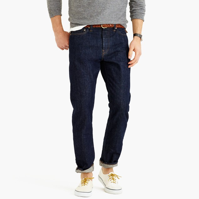 1040 athletic selvedge jean in Fairfax wash
