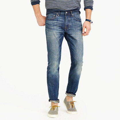 484 slim jean in Leroy wash