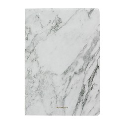 Poketo® marble blank notebook