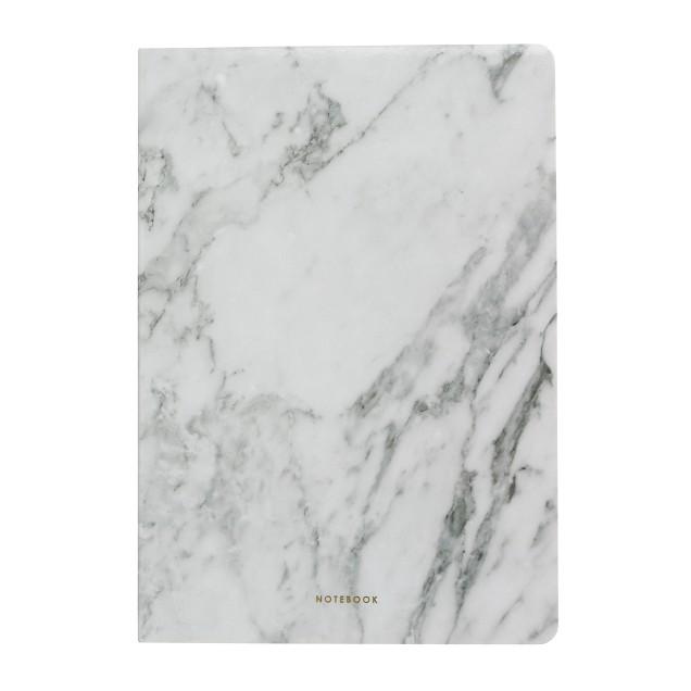 Poketo® marble blank notebook