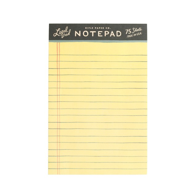 Rifle Paper Co.™ legal notepad