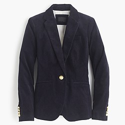 Petite Campbell blazer in corduroy