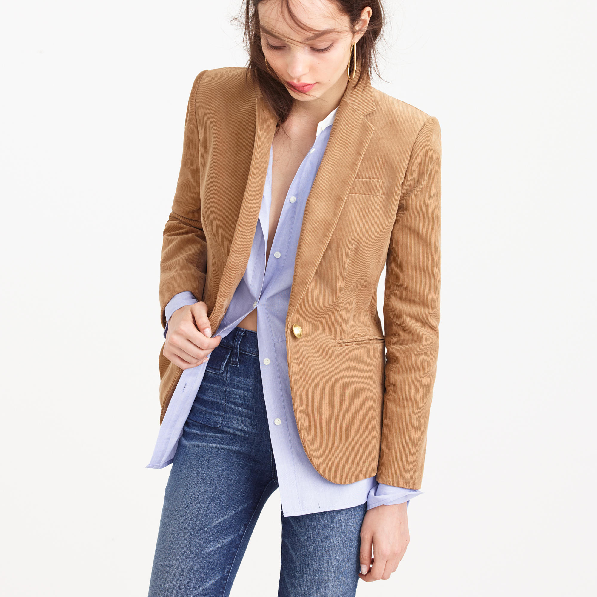 Shop Polo Ralph Lauren Corduroy Blazer online at taradsod.tk This borrowed-from-the-boys blazer from Polo Ralph Lauren is updated in a feminine, fitted silhouette and features patches at the elbows for a 2/5(1).