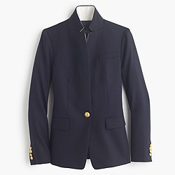 Regent blazer with satin lapel